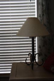 Nice iron lamp