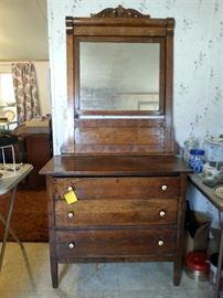 Beautiful antique oak dresser 60% off!!!