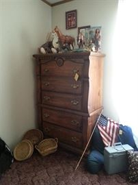 Matching dresser w/mirror and night stand available
