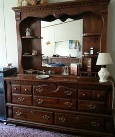 Matching chest of drawers and night stand available
