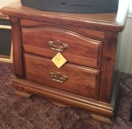 Matching dresser w/mirror and chest of drawers available
