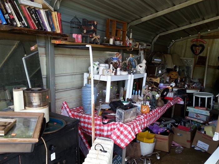 Offer's considered on shed items...come and dig through it all