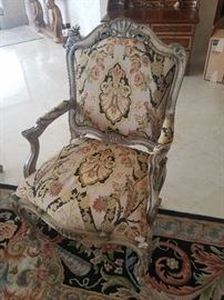 Pair of Arm Chairs - Floral
