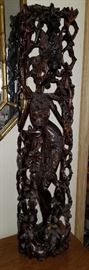 Rosewood Carved Statue