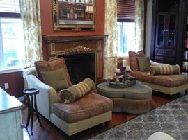 CUSTOM CHAISE LOUNGES