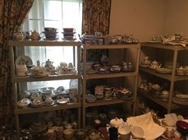 Lots and lots of great quality and pattern china sets