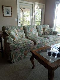 Ethan Allen flora sofa