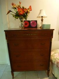 RWAY Northern Furniture Co. mahogony tall chest