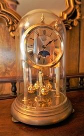 Bulova anniversary clock