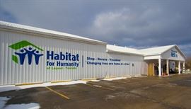 lapeer county habitat restore building
