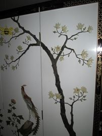Dining Room: Chinese screen room divider