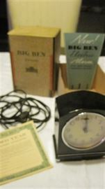 Bakalite Vintage Big Ben Clock-like new in box