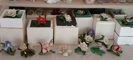 Lenox porcelain flowers