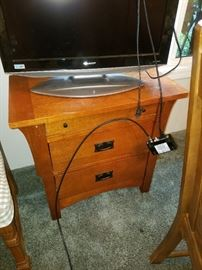 Mission style Side Chest - Flat Screen TV