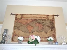 Tapestry World Map