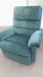 Velvet recliners