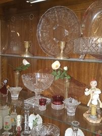 Some of the items from the China cabinet.