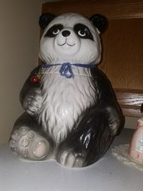Lord & Taylor Panda Cookie Jar.