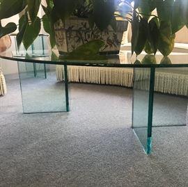 nice glass coffee table
