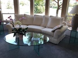 curved sofa excellent condition