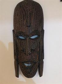 Eithiopian tribal mask