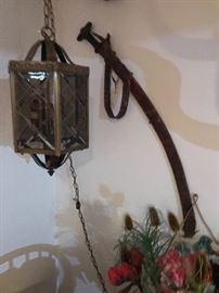 Sword  hanging lamp
