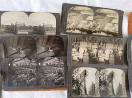 Stereoview Cards large collection