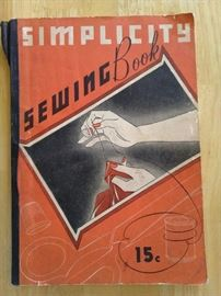 1937 Simplicity Sewing Book