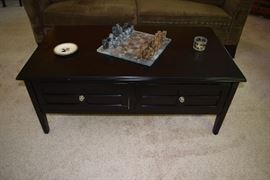 Coffee Table & Chess Set