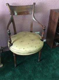 Antique Cival War Era chairs, 2