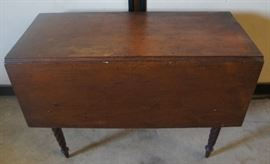 Early Drop Leaf Table 3 Board Top