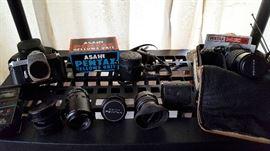 Vintage 35mm Pentax cameras, lenses & accessories