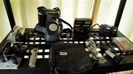 Vintage cameras & accessories