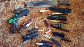 A variety of knives!