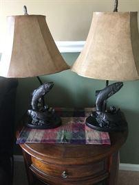 Lamps trout