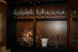 Crystal Stemware, Lenox Vase