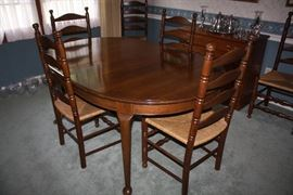 Hitchcock Table and Chairs