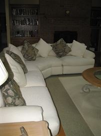 Henredon sectional sofa