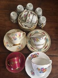 Small Collection of China.  Sold as a lot.