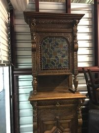 Entire View of Antique Hutch.