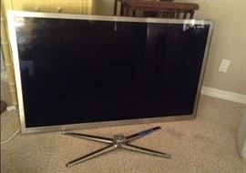 "55""TV-  This is not in storage room.  If interested please text.   This is located at their house."