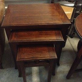 Designer Nesting Tables by Harden.   Made beautiful.