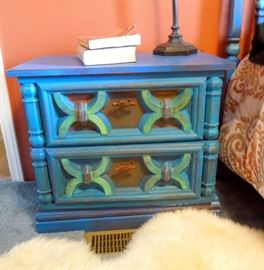 Bedside stand with two drawers