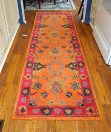 Hall runner decorator rug