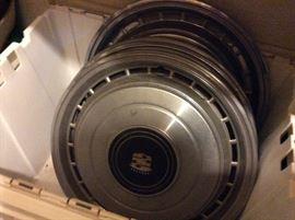Caddliac hub caps