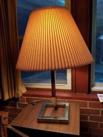 Mid Century Brass Lamp https://ctbids.com/#!/description/share/26957