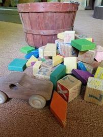 Wooden Blocks and Wooden Car https://ctbids.com/#!/description/share/31917