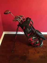 Callaway Diablo golf clubs with tour bag.  NEW.