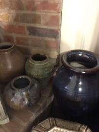 Pottery - various sizes.