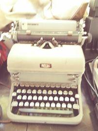 Vintage ROYAL brand, manual typewriter